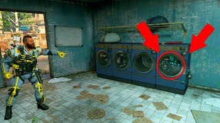 NO ONE COULD FIND OUT WHERE HE WAS HIDING IN THE WASHER??? HIDE N' SEEK ON *BLACK OPS 4*