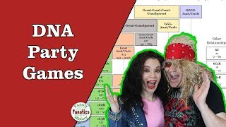 Party Games To Play With A DNA Centimorgan Chart (Genealogy Humor)