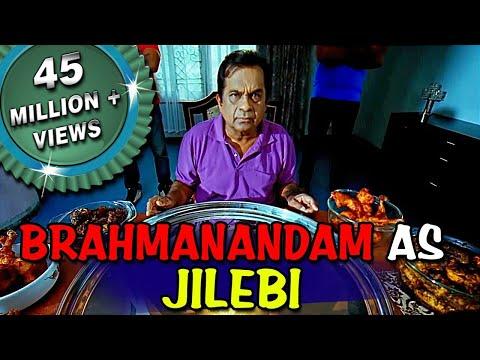 Brahmanandam as Jilebi | Double Attack (Naayak) Hindi Dubbed Best Comedy Scenes | Ram Charan