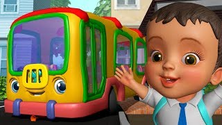 School Bus Song - स्कूल बस गीत | Hindi Rhymes for Children | Infobells