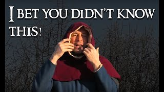 Medieval Hoods: A Funny Thing About Medieval Hoods And An Amazing Discovery!