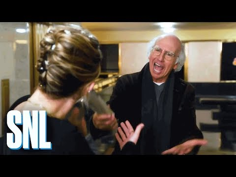 SNL Host Larry David Prefers to Ride Alone