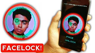 How to UNLOCK your Phone with FACE like iPhone X, Apple iPhone FACE ID ON ANDROID | ios  2 methods