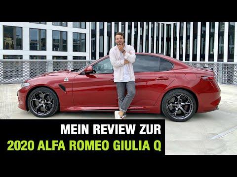 2020 Alfa Romeo Giulia Quadrifoglio (510 PS)♥️☘️ Neue GTA & GTAm Basis - Fahrbericht | Review | Test