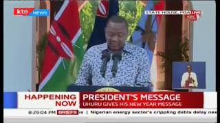 President Uhuru's last message| No regrets on historic handshake