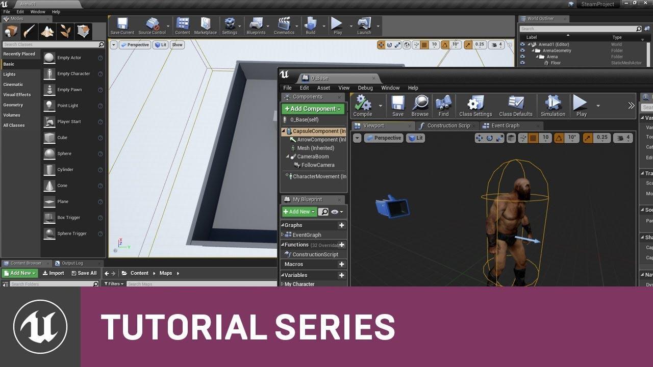Blueprint Multiplayer: Project Setup | 02 | v4.11 Tutorial Series | Unreal Engine