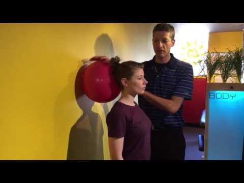 Neck Ball Exercise