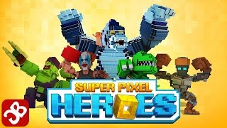 Super Pixel Heroes - iOS/Android - Gameplay Video