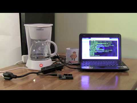 DIY Twitter-Powered Coffee Pot