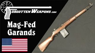 Winchester Experimental Mag-Fed Garands