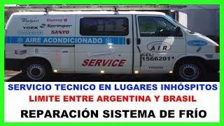SERVICIO TÉCNICO EN LUGARES INHÓSPITOS-REPARACIÓN SISTEMA DE FRÍO.