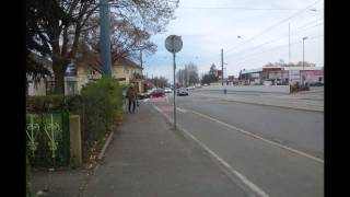 preview picture of video 'Bildimpressionen Heidelberg Haltestelle Marktstrasse im Pfaffengrund'