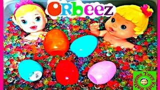 ORBEEZ Bath Baby Alive Doll Surprise Eggs Shopkins Peppa Pig MLP Kids Balloons and Toys