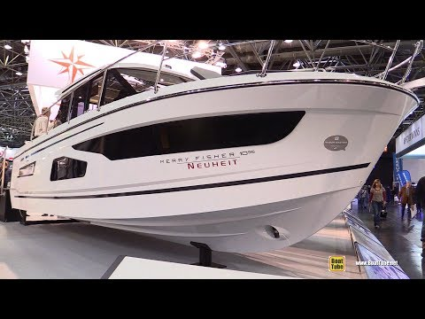 2018 Jeanneau Merry Fisher 1095 Fishing boat – Walkaround – 2018 Boot Dusseldorf Boat Show