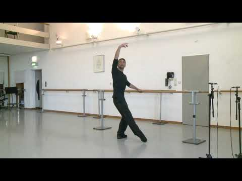Anwesenheitsnotiz – Balletttraining mit Leonardo Barbu