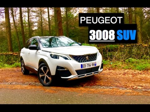 2017 Peugeot 3008 SUV 1.6 BlueHDi Review - Inside Lane