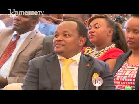 President Uhuru Kenyatta na munini wake William Ruto gutitirithia githurano ni tariki 17