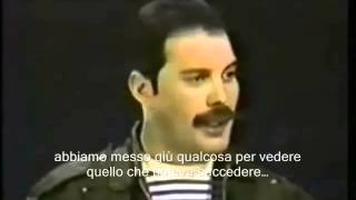 Freddie Mercury, interview (SUB ITA) with Lisa Robinson