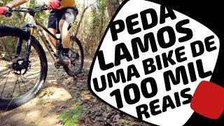Como é pedalar uma bike de 100 mil Reais? Scott Spark RC SL. Pedaleria