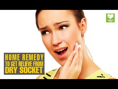 Video Home Remedies To Get Relieve From Dry Socket (Alveolar osteitis) | Health Tips | Educational Video