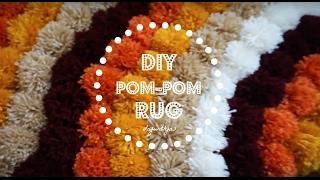 DIY Pom Pom Rug   DIY Home Decor