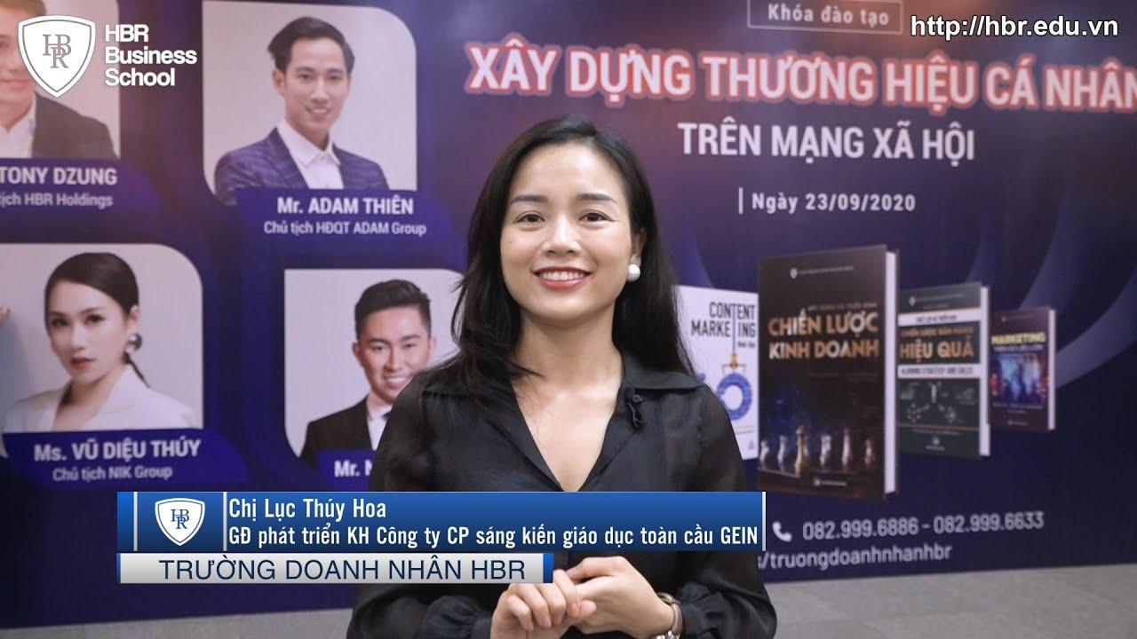 """Cảm Nhận Học Viên về Khóa Học """"XÂY DỰNG THƯƠNG HIỆU CÁ NHÂN TRÊN MẠNG XÃ HỘI"""" - Tony Dzung"""
