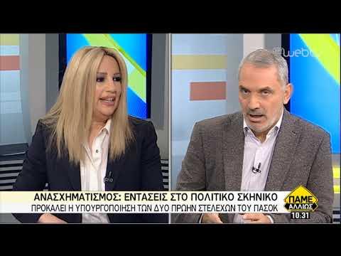 Διμέτωπη κριτική σε κυβέρνηση και ΝΔ από την Φ. Γεννηματά | 17/2/2019 | ΕΡΤ