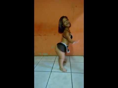 Sexy little midget girl dancing