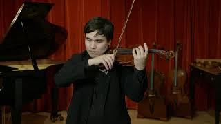 Georg Ullman violin, Milan 1904