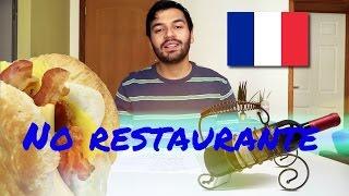 No Restaurante - Guia de conversação em francês