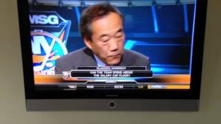 Howie Rose interview with Chales Wang