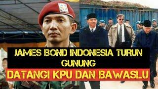 Sosok James bond indonesia turun Gunung Ke KPU dan Bawaslu