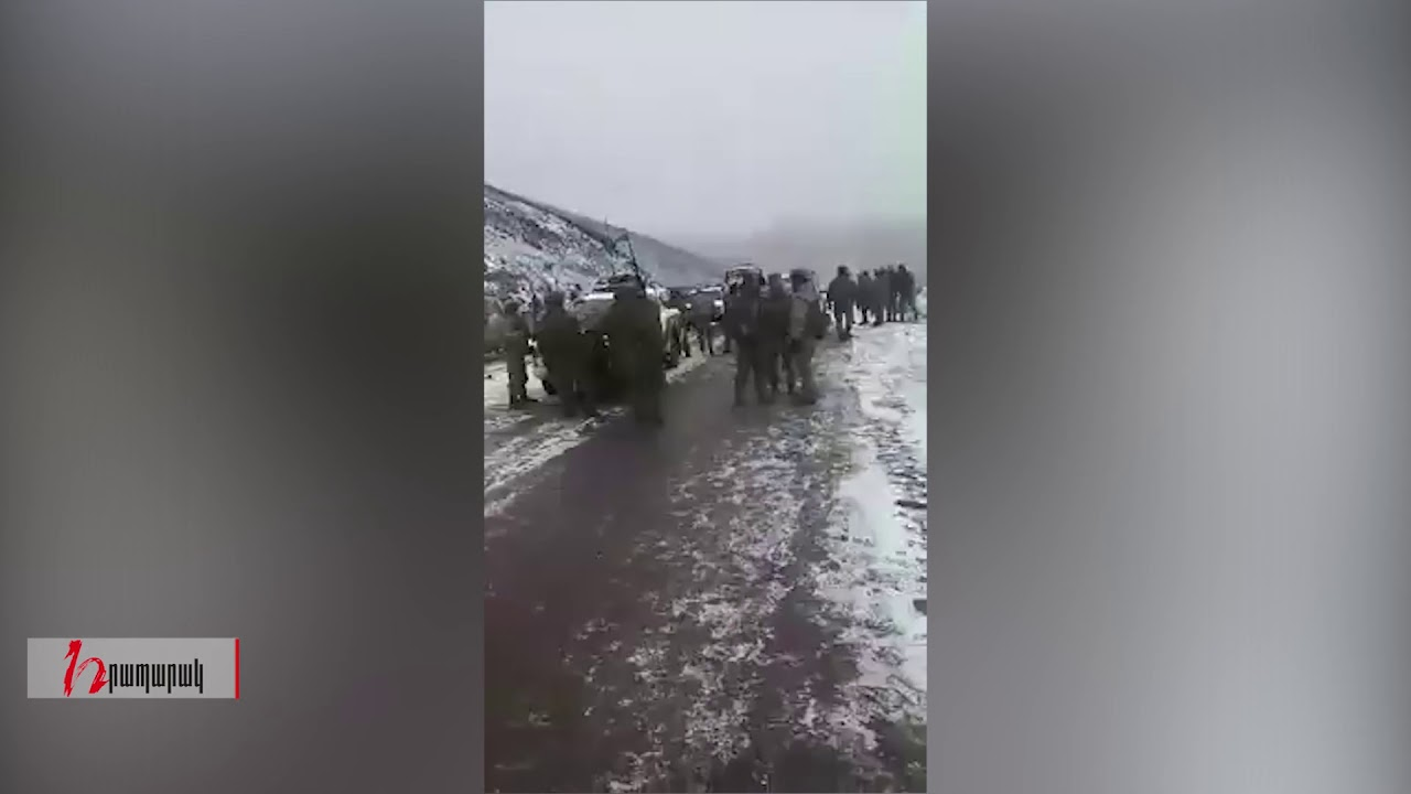 Ադրբեջանցի զինծառայողները Վարդենիսի Սոթքի ոսկու հանքի մատույցներում