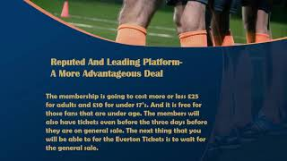 Everton tickets – your chance to see some real intense football
