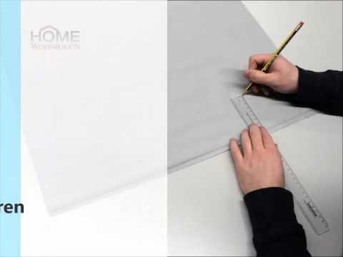HOME Wohnideen - Digitaldruck-Schiebevorhänge kürzen