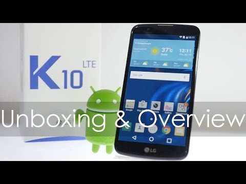 LG K10 LTE Smartphone Unboxing & Overview