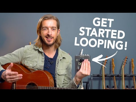 Get Started Using A LOOPER Pedal with Acoustic Guitar
