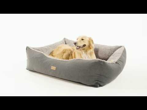 Hundekorb: Emma in der Farbe grau (Größe L)