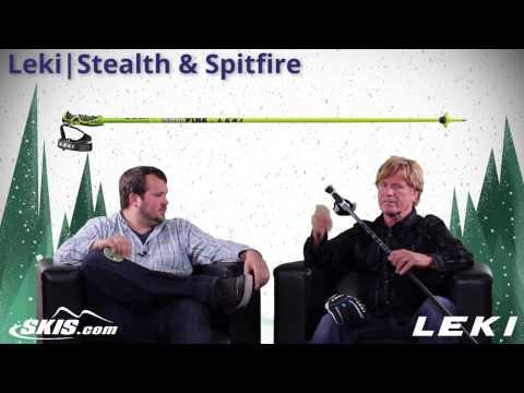 2015 Leki Stealth and Spitfire Ski Pole Overview by SkisDOTcom
