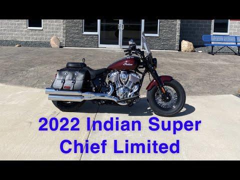 2022 Indian Super Chief Limited ABS in Ottumwa, Iowa - Video 1
