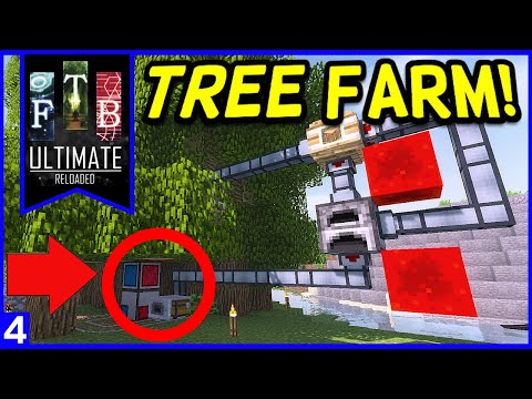 Steve's Carts 2 Tree Farm - FTB - Tutorial - смотреть онлайн на Hah Life