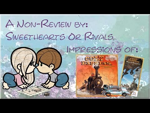 Sweethearts or Rivals: Impressions of Colt Express Expansions