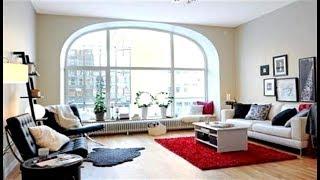 Living Room WINDOW Decorating Ideas Living Room With Large Windows
