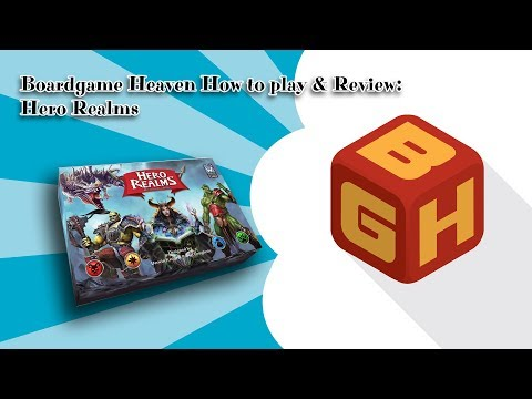 Boardgame Heaven How To Play & Review: Hero Realms