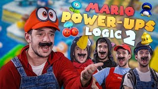 MARIO POWER-UPS LOGIC IN REAL LIFE 2
