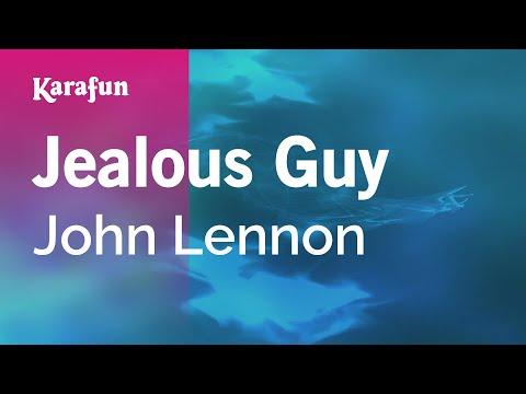 Jealous Guy - John Lennon   Karaoke Version   KaraFun