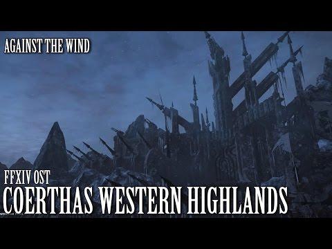 FFXIV OST Coerthas Western Highlands ( Against the Wind )
