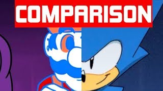Sonic Mania Pre-Order Trailer and A Manic Announcement [Comparison]
