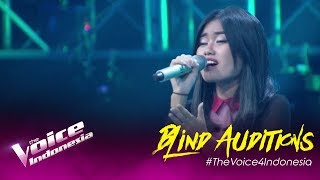 Adjani - Intuisi | Blind Auditions | The Voice Indonesia GTV 2019