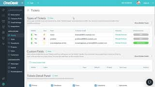 Ticket Configuration Options